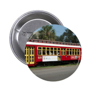 Red Streetcar Buttons