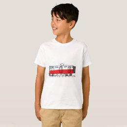 Red streetcar T-Shirt