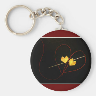 Red String of Fate Keychain