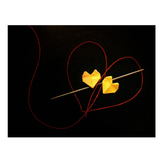 Red String of Fate Postcard