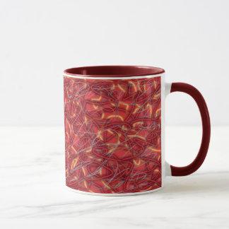 Red Strings Mug