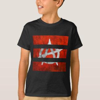 Red Stripe Anarchy T-Shirt