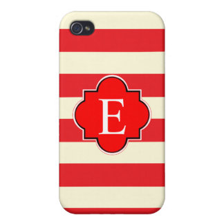 Red stripe case for iPhone 4
