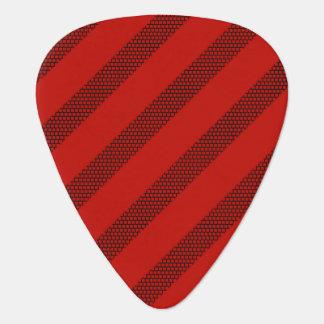 Red Stripe Dot Pick Standard