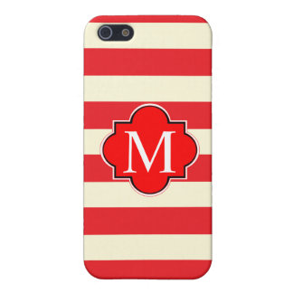 Red stripe iPhone SE/5/5s cover