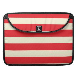 Red stripe MacBook pro sleeve