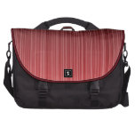 Red Striped Computer Bag