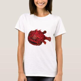 Red Striped Cowfish T-Shirt