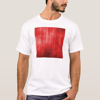 Red Striped Grunge Design T-Shirt