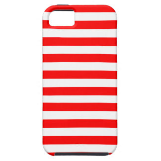 Red Striped iPhone SE/5/5s Case