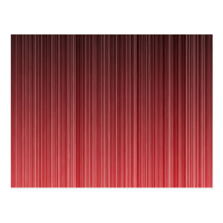 Red Striped Postcard