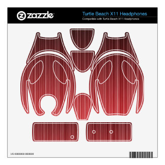 Red Striped Turtle Beach X11 Skins