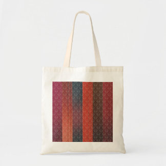 Red Stripes Budget Tote Bag
