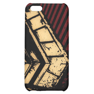 red stripes case for iPhone 5C