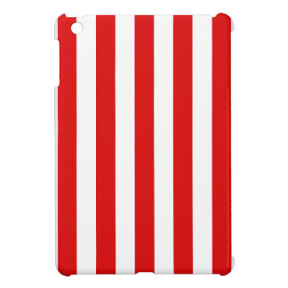 Red Stripes iPad Mini Case