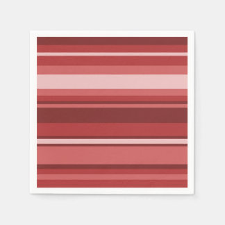 Red stripes napkin
