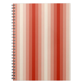 Red Stripes Notebooks