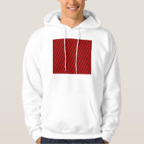 Red Stripes Pattern Hoodie
