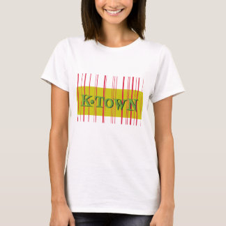 Red Stripes Retro K*Town T-Shirt