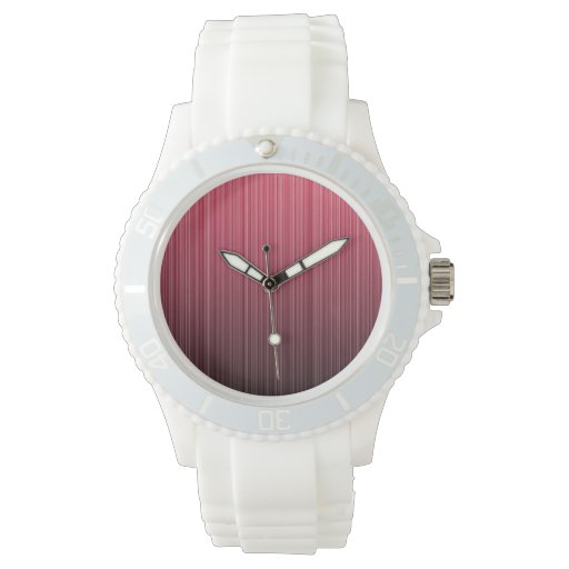 Red Stripes Watch