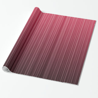 Red Stripes Wrapping Paper