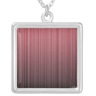 Red Stripy Pendants