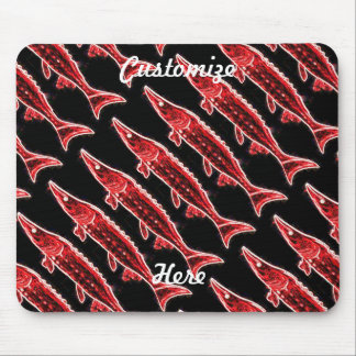 red sturgeons Thunder_Cove black Mouse Pad