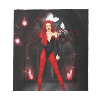 Red Succubus Notepad