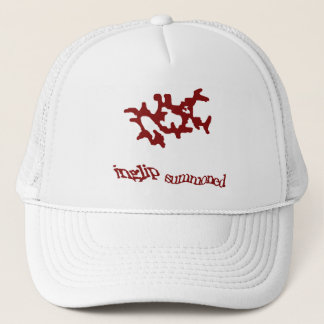Red Summoning Weedaula Trucker Hat
