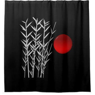 Bamboo Shower Curtains Zazzle