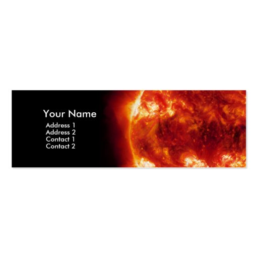 Red Sun business card 2