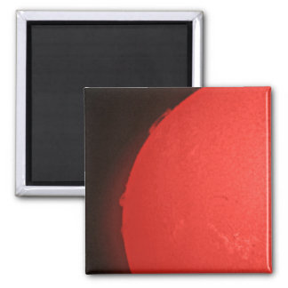 Red Sun Flare Magnet