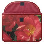 Red Sun Petals MacBook Pro Sleeves