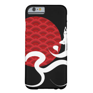 Red Sun Yoga Spiritual Indian Meditate Om Ohm Logo Barely There iPhone 6 Case