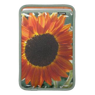 "Red Sunflower 11"" MacBook Sleeve"