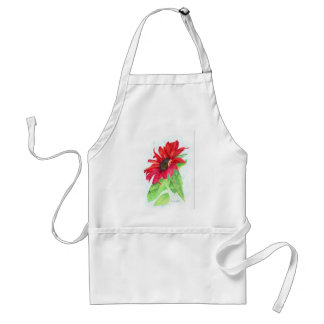 Red Sunflower Adult Apron
