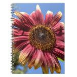 Red Sunflower Journal Notebook