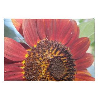 Red Sunflower Place mat