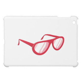 red sunglasses reflection.png iPad mini case