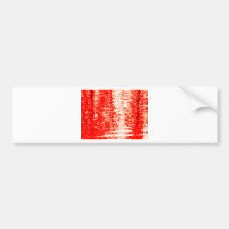Red sunrise bumper stickers