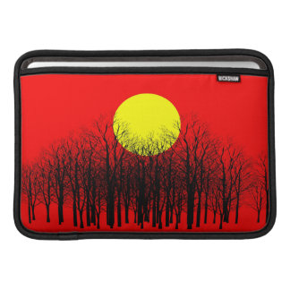 Red Sunset Macbook Air Sleeves