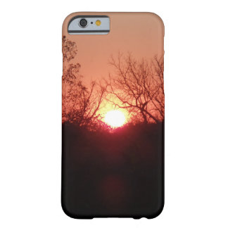 Red Sunset Silhouette iPhone6 Case