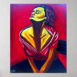 Red Sunshine Print
