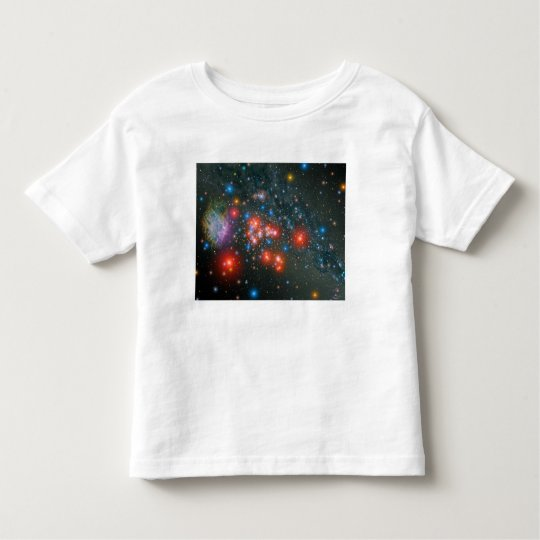 Red Super Giant Cluster Toddler T-shirt