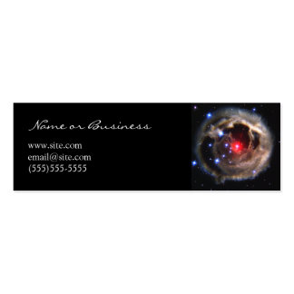 Red Supergiant Profile Card Double-Sided Mini Business Cards (Pack Of 20)