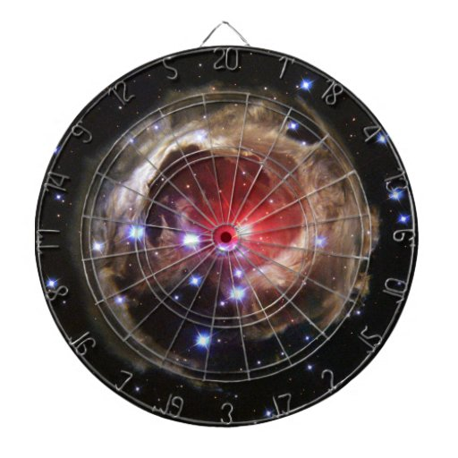 Red Supergiant Star V838 Monocerotis Dart Boards