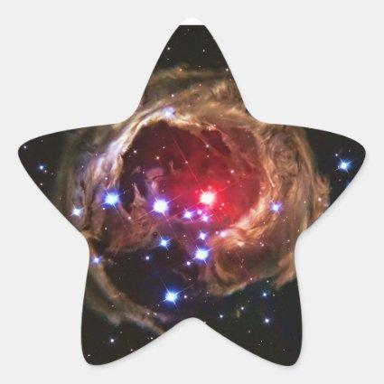 Red Supergiant Star V838 Monocerotis Star Stickers