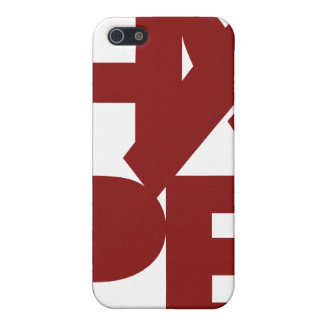 Red Support Ribbon iPhone 5 Covers