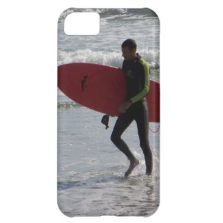 Red Surfboard Case For iPhone 5C