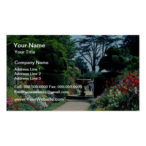 Red Sussex Weald at Handcross near Haywards Heath, Business Cards